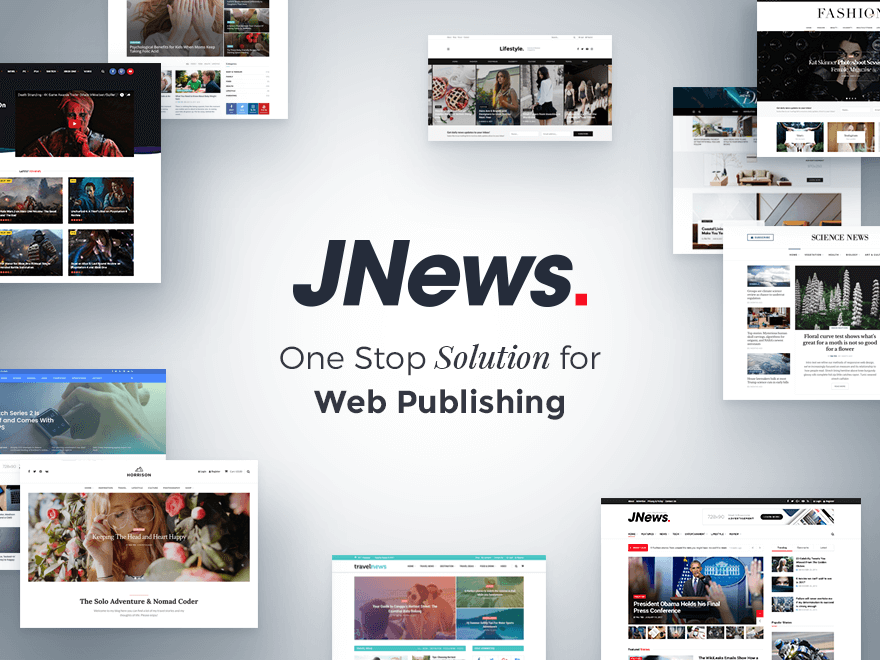 JNews WordPress Tema indir