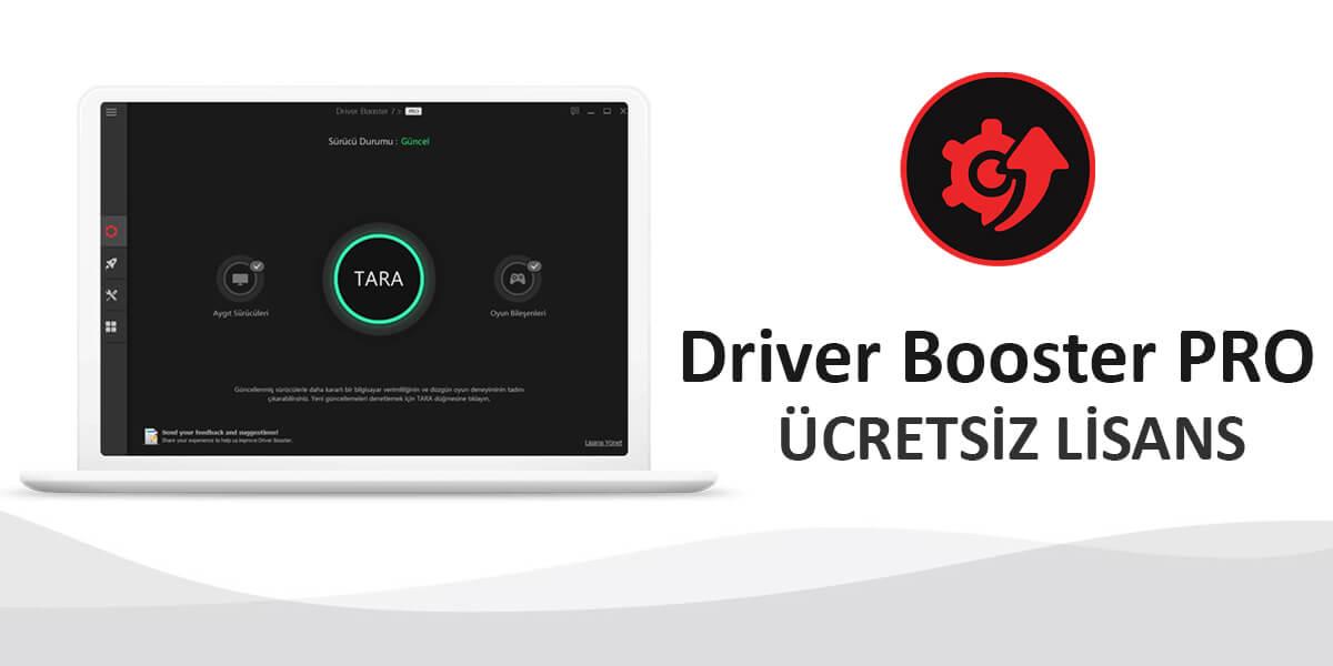 IObit Driver Booster 7.3 PRO Full Ücretsiz Lisans