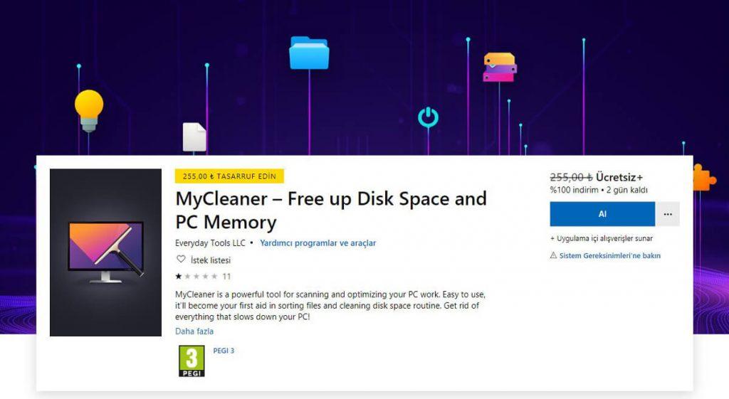 MyCleaner Microsoft Store